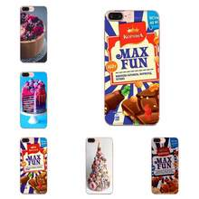 Wonka Chocolate Bar Atas untuk Huawei Kehormatan Mate 7 7A 8 9 10 20 V8 V9 V10 V30 P40 G lite Bermain Mini Pro P Smart TPU Case Coque Cover(China)