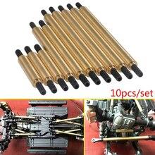 YEAHRUN 10pcs Metal Steering & Suspension Linkage Kit Upgrade for 1/10 RC Crawler TRAXXAS Trx-4