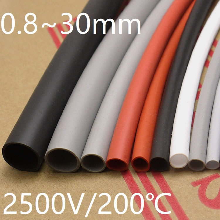 sourcingmap 8mm x 12mm Dia High Temp Resistant Silicone Tube Hose Rubber Pipe White 1M Long