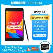 Alldocumbe iplay 8t 4g tablet android 10.0 netbook phablet comprimidos 8 polegada 1280x800 sc9832e quad core 3gb ram 32gb rom phonecall