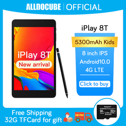 Alldocube iPlay 8T 4G Tablet Android 10.0 Netbook Phablet Tablets 8 inch 1280 x 800 SC9832E Quad Core 3GB RAM 32GB ROM phonecall
