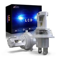 Лампа для автомобильных фар H4 светодиодный H7 H8 H9 HB2 HB3 H11 HB4 9005 9006 60 Вт 12000LM Plug-N-Play Чрезвычайно яркий 6000K ZES чип Hi/Lo луч