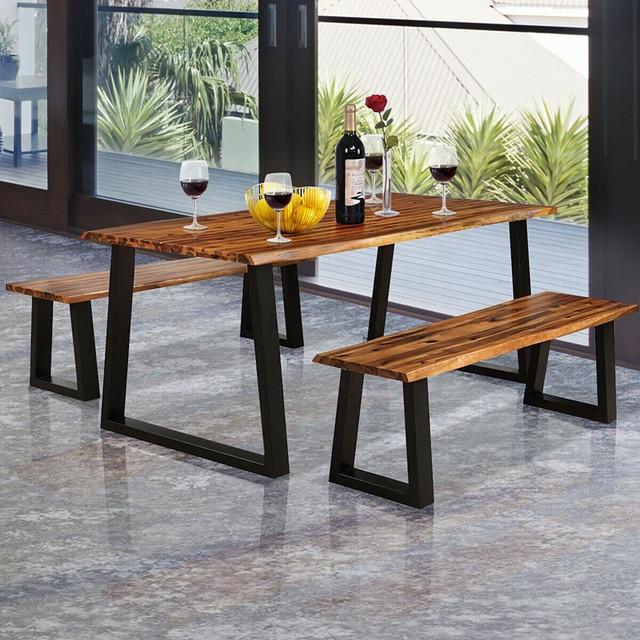 Premium Acacia Wood Patio Bench  2