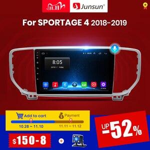 Junsun V1 2G+32G Android 10.0 DSP 4G Car Radio Multimedia Player GPS Navigator For KIA Sportage 4 2018-2019 Audio 2Din 2 din dvd