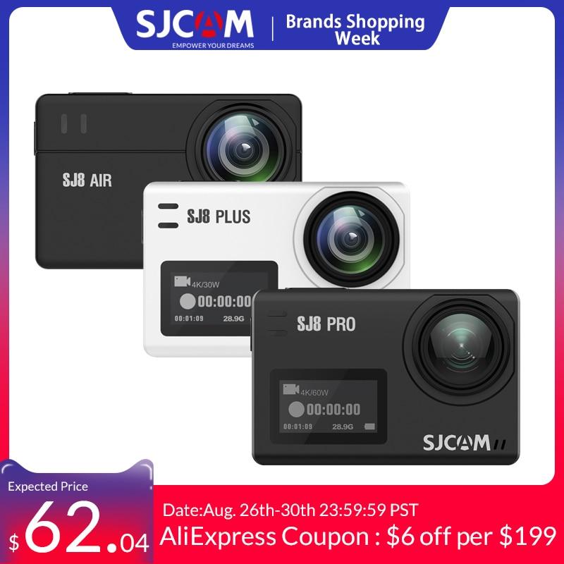 SJCAM Action-Camera Remote-Control WIFI Sj8-Series Waterproof Sports Sj8 Pro Air--Sj8-Plus