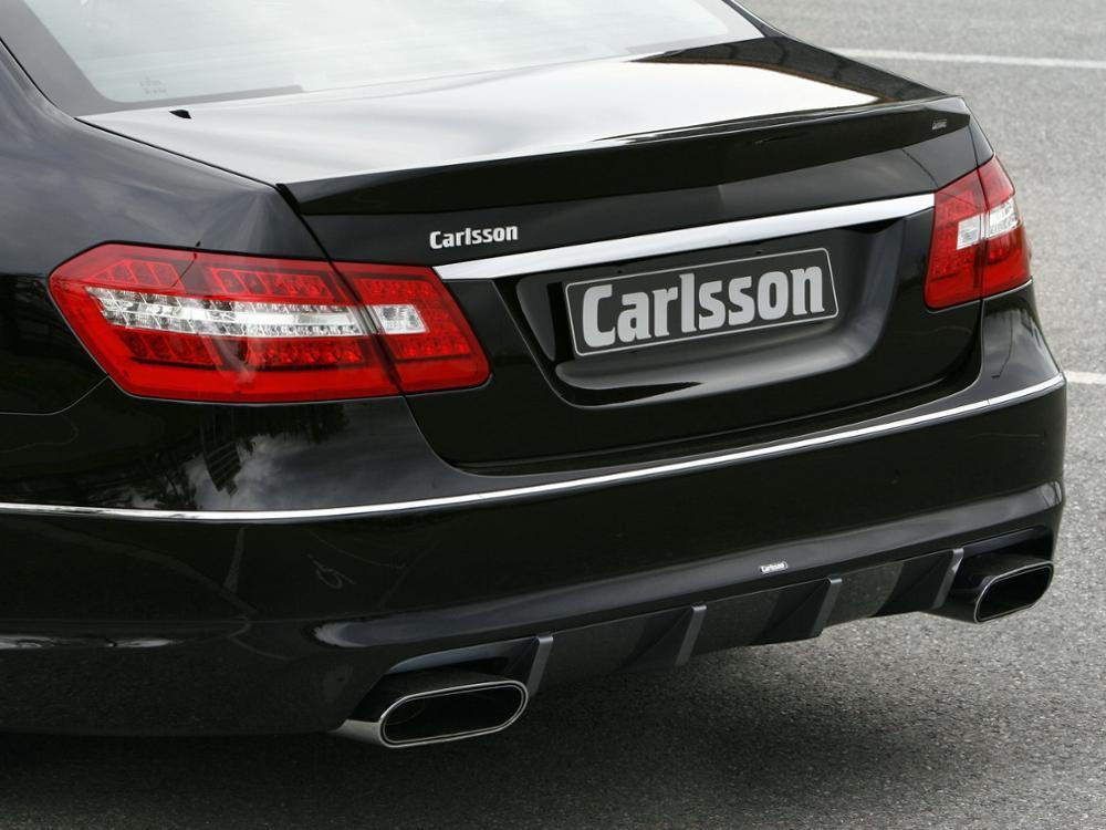 לנץ W212 E-class 09-16 4 דלת סדאן E200 E250 E300 E350 E400 E500 CGI רכב סגנון FRP סיבי זכוכית אחורי מפזר ערכת גוף