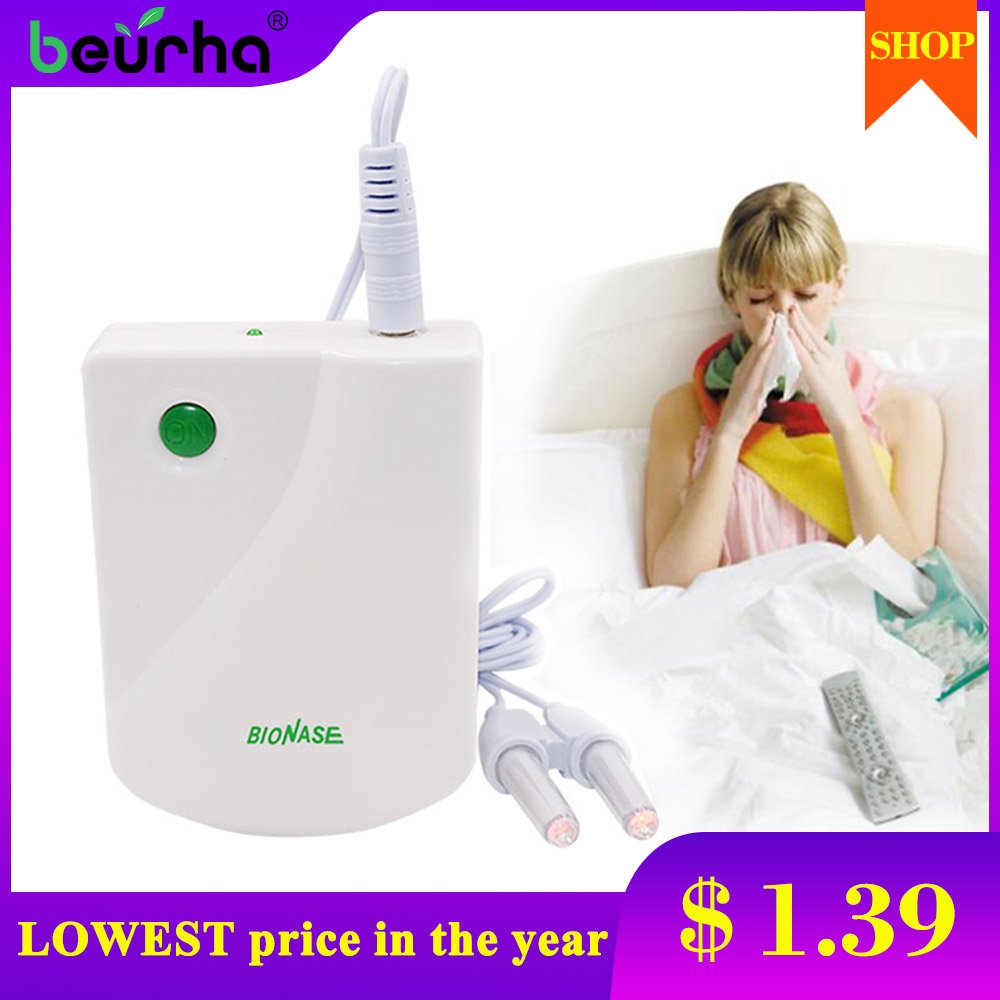Health-Care-Machine Massage Pulse-Laser Nose Cure Sinusitis Low-Frequency Bionase Hay