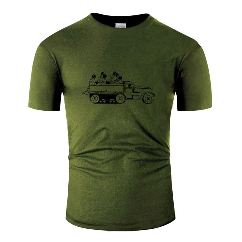 Классическая мужская футболка с принтом в стиле милитари, летняя мужская футболка с рисунком S-5xl, 100% хлопок, круглый воротник, высокое качество