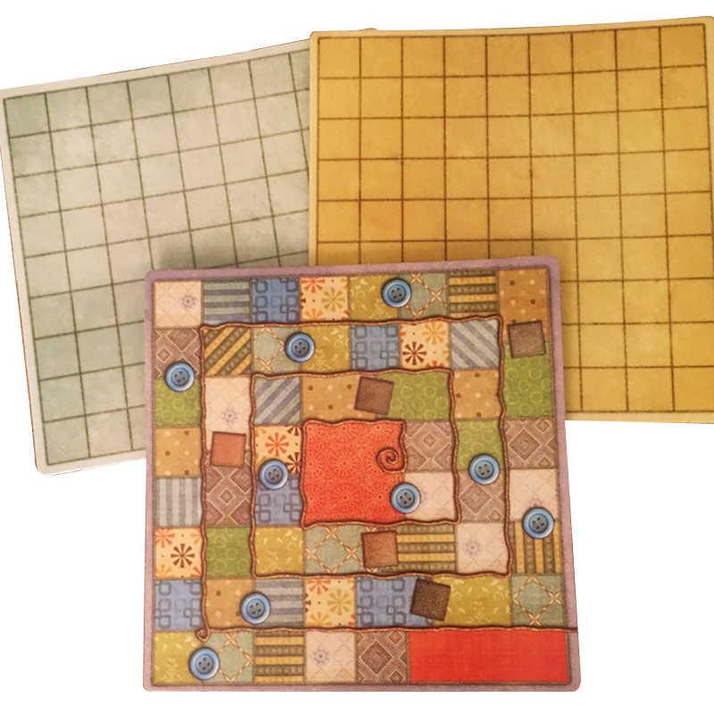 Juego de mesa de retazos para dos jugadores juegos de fiesta divertidos tarjetas de papel versión en chino/Inglés