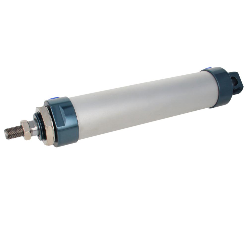Othmro /Stroke Aluminum Alloy Pneumatic Cylinder Double Acting Single Rod Air Cylinder MAL 40mm Bore 25mm-500mm
