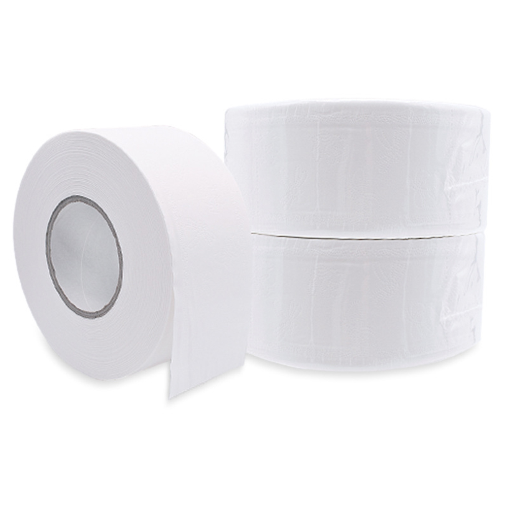 1 Roll 4-ply Paper Tissue Toilet Roll Paper Public Hotel Commercial Use SSwell