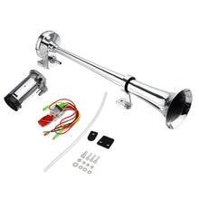 цена на 178DB Single Trumpet Air Horn Compressor Kit Fit Car Truck Boat Van Train + Wireit
