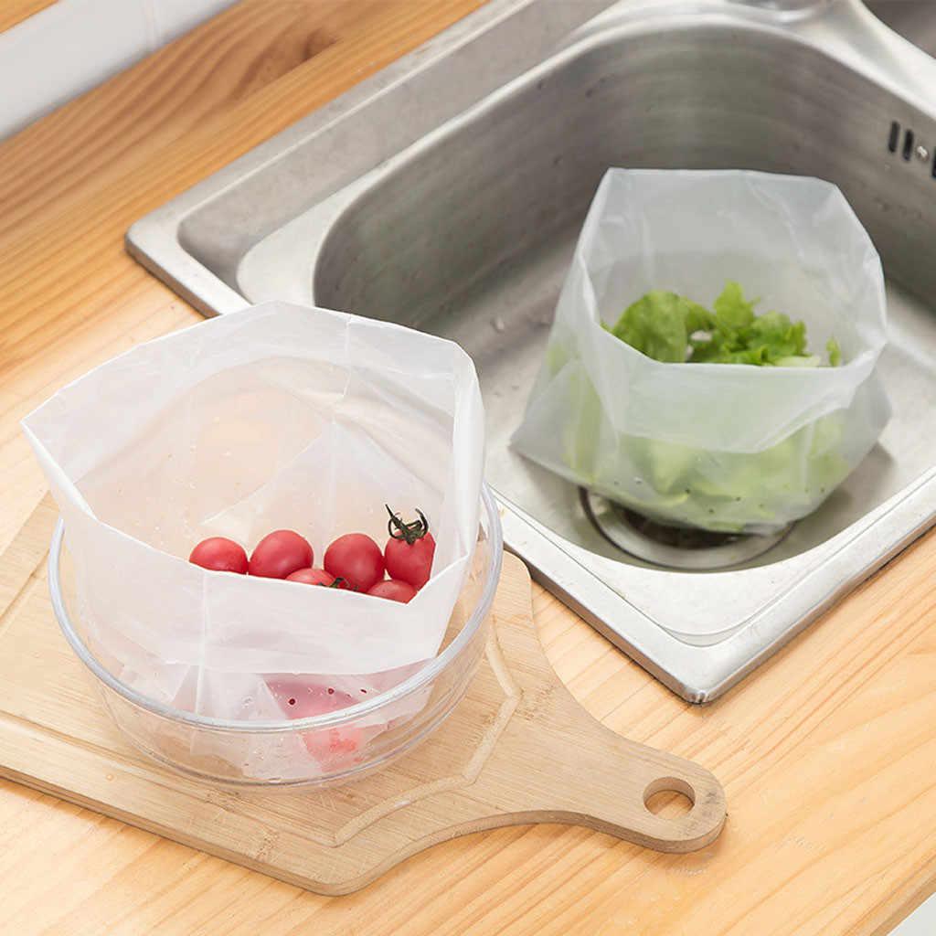 30pcs Drain Bags Kitchen Pool Fruit Vegetable Washing Oragnizer Pockets Drainage Garbage Filter Independent Sink Filter Bag