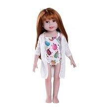 цена JULY'S SONG 55cm Full Silicone Body Reborn Baby Doll Toy For Girl Newborn Bathe Accompany Toy Birthday For Kids онлайн в 2017 году