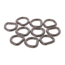 10 шт металлическая d образная пряжка сумка кожаная кошелек