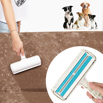 Pets Hair Removing Tool 2 -Ways Remover Roller Sticking For Clear Dog Cat Accessories Grooming Brush From Carpets Clothing 1