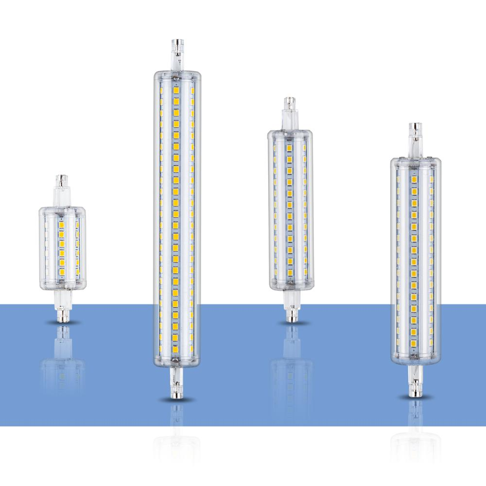 <font><b>R7S</b></font> <font><b>Led</b></font> Lamp 220V Tube Bulb 5W 10W 12W 15W Corn Light <font><b>Led</b></font> Bulb J78 J118 <font><b>r7s</b></font> <font><b>LED</b></font> 118mm Lampara <font><b>135mm</b></font> 189mm Floodlight 110V 2835 image