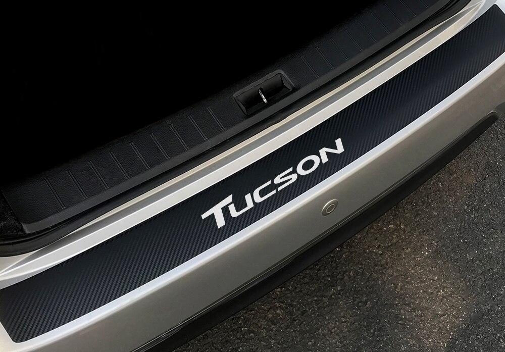 Наклейка на задний бампер автомобиля для hyundai Elantra Accent Tucson i40 i30 i10 i20 Veloster IX35 IX20 Solaris Genesis аксессуары Santafe