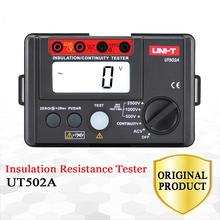 цена на UNI-T Digital Multimeter LCD Backlight Highly Voltmeter Continuity Tester 2500V Insulation Resistance Meter Tester Megohmmeter