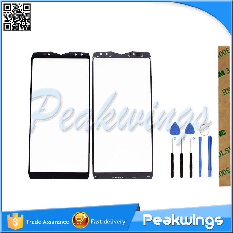 High Quality Touch Panel For <font><b>Ulefone</b></font> <font><b>Power</b></font> <font><b>5</b></font> Power5 Touch <font><b>Screen</b></font> Front Outer Glass Lens Cover Panel Replacement Parts image