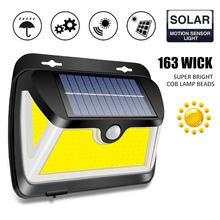 163 cob Светодиодная лампа на солнечной батарее доступная в