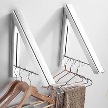 Вешалка для одежды настенная многофункциональная Выдвижная сушилка