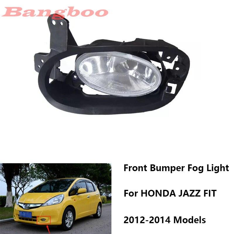 Front Bumper Fog Lamp Fog Light 33951-TF0-J51 33901-TF0-J51 For  For Honda FIT JAZZ 2012 2013 2014