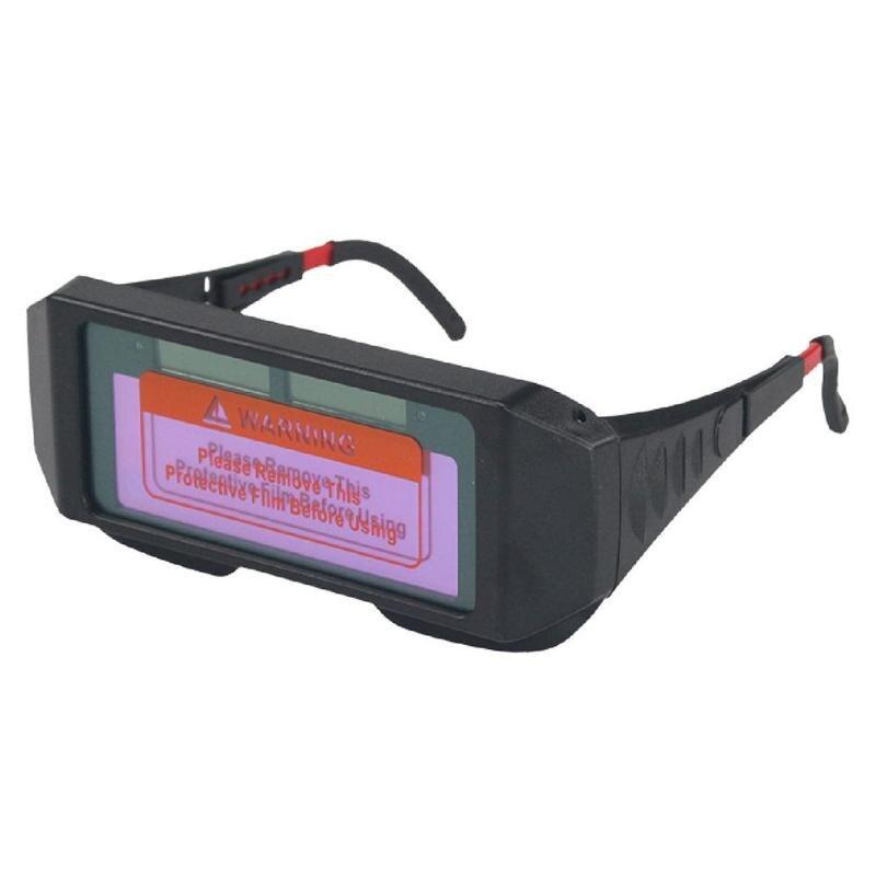 Сварные очки Защита Удобная Солнечная энергия Автоматизация Солнечная затемнение сварочный шлем Сварщик Маска тенты сварочные очки