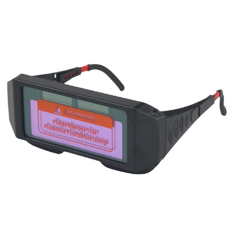 Welded Glasses Protection Convenient Solar Energy Automation Solar Darkening Welding Helmet Welder Mask Shade Welding Goggles