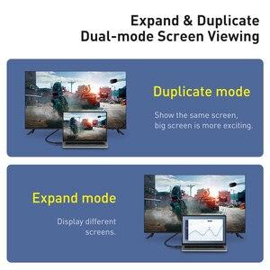 Image 4 - Baseus HDMI כבל HDMI ל HDMI כבל HDMI 2.0 עבור אפל טלוויזיה PS4 ספליטר 3m 5m 10m כבל HDMI 4K 60Hz HDMI כבל HDR Vedio כבל