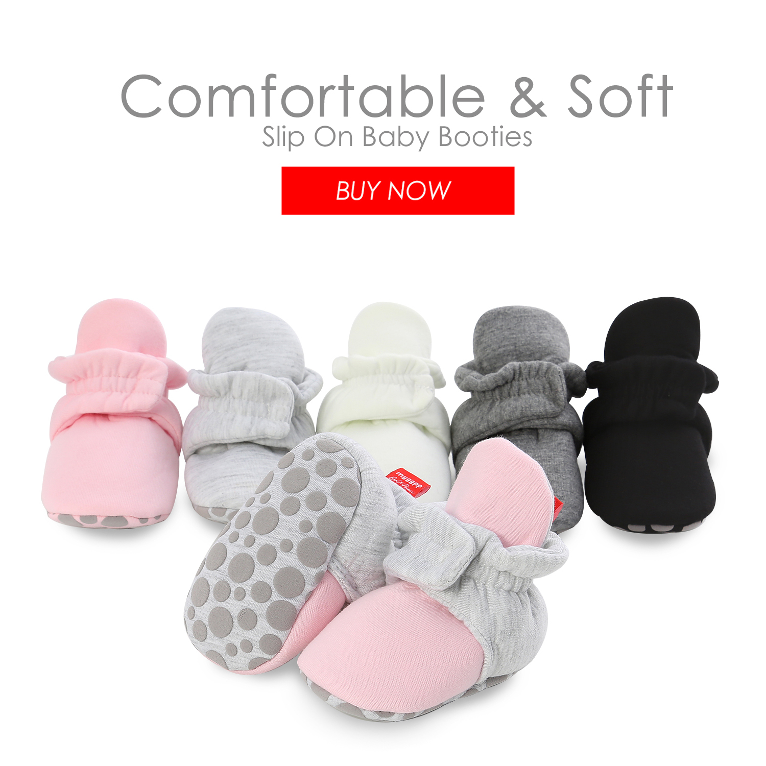 Newborn Shoes Warm Socks Toddler Boots Winter First Walker Baby Girls Boys Soft Sole Snow Booties Unisex Crib Shoes zapatos bebe 5