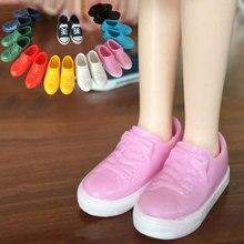 6 цветов, 1/6, модные 1:6 кроссовки для куклы Blyth, пышная цветная кукольная обувь для куклы Lica, мини девичьи куклы, игрушки, аксессуары
