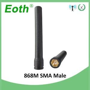 Image 4 - 5pcs 868 MHz 915 MHz אנטנת 3dbi SMA זכר ישר antena GSM antenne 868 MHz 915 MHz אנטנות gsm אות מהדר Lorawan