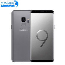 Smartphone d'origine Samsung Galaxy S9 4G Android téléphone portable 4G RAM 64G ROM octa-core 5.8 ''12MP empreinte digitale NFC(China)