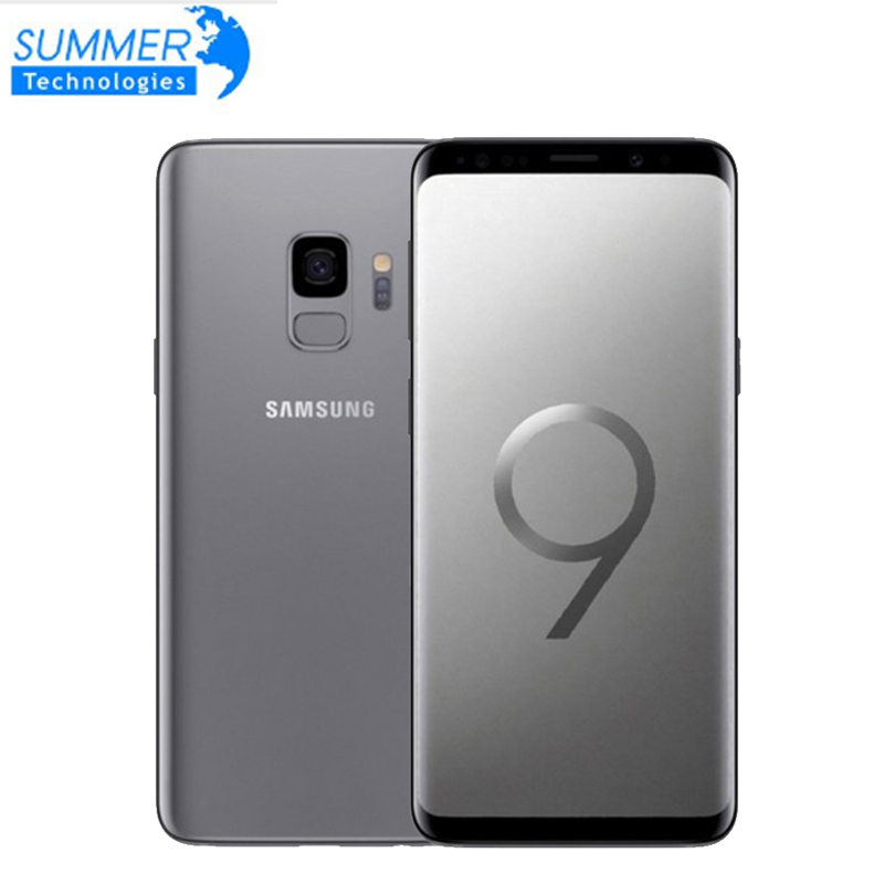 Smartphone d'origine Samsung Galaxy S9 4G Android 4G RAM 64G ROM octa-core 5.8 ''12MP empreinte digitale NFC