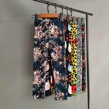 Jolies filles Leggings printemps été impression fleur pantalon doux fille crayon pantalon enfants pantalons enfants vêtements