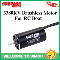 SURPASS HOBBY 2958 3380KV Brushless Waterproof Motor 4 Pole 3.175mm Shaft For 600 800mm RC Boat Spare Parts
