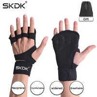 SKDK Грипсы гимнастическая лента для кроссфита рука ладонь протекторспортивные перчатки для занятий тяжелой атлетикой фитнес тренировка ги...