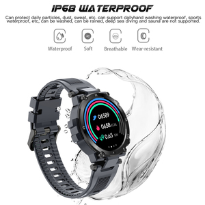 Image 5 - SENBONO 2020 Men Full Touch Screen Smart Watch IP68 Waterproof support HR/BP Fitness Tracker D13 smartwatch for IOS Android