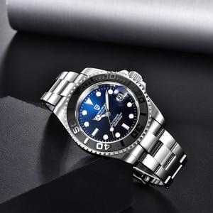 Мужские механические часы PAGANI, дизайнерские водонепроницаемые автоматические часы из нержавеющей стали, роскошные мужские наручные часы