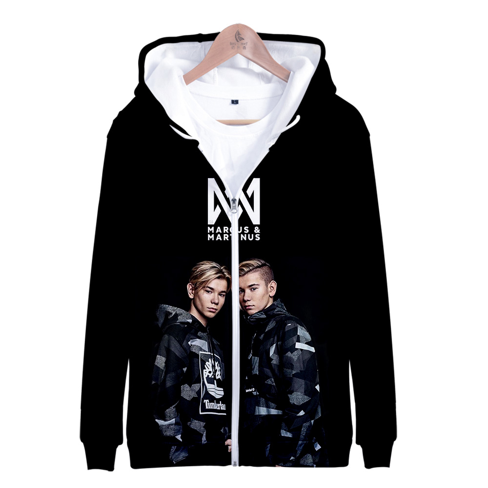 Zipper Jacket Marcus Martinus 3D Hoodies Sweatshirt Women/Men Marcus And Martinus Harajuku Hoodies Women Plus Size
