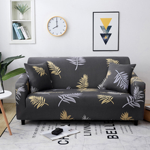 1/2/3/4-Seater Printed Sofa Cover Stretch Elastic Couch Cover Sofa Seat