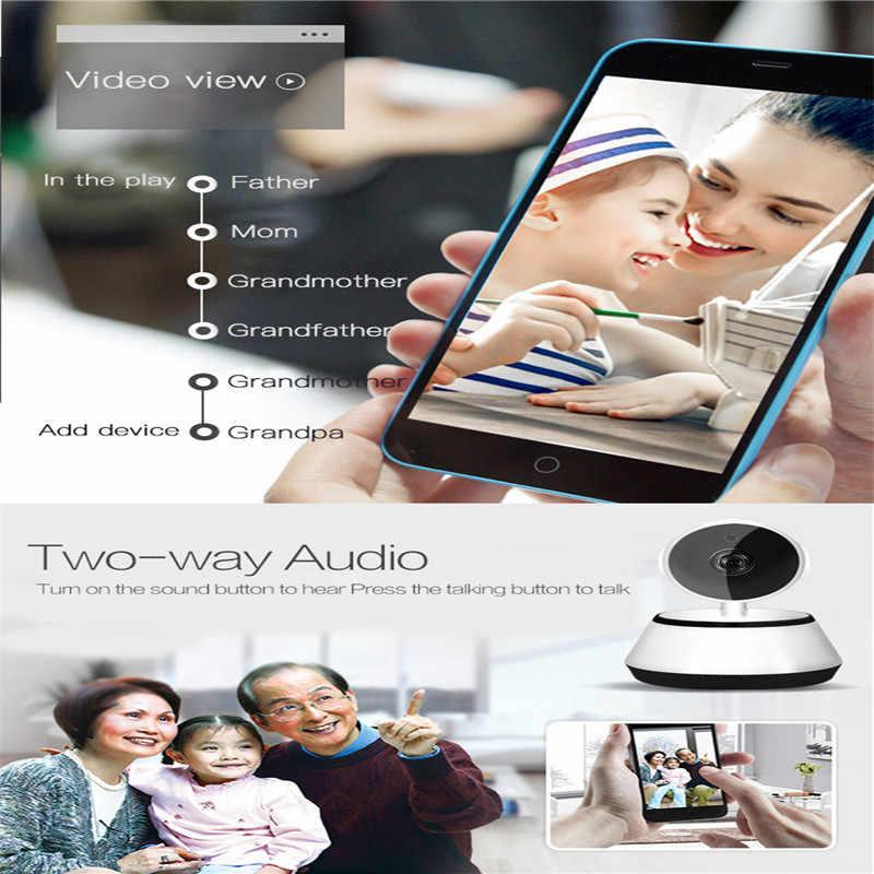Caméra de Surveillance sans fil WIFI HD caméra de Vision nocturne vidéo bébé moniteurs moniteur de caméra bébé moniteur avec caméra 960P caméra