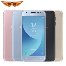 Original samsung galaxy j3 j3300 (2017) quad core 5.0 polegada 2gb ram 16gb rom 13.0mp desbloqueado duplo sim impressão digital nfc telefone móvel