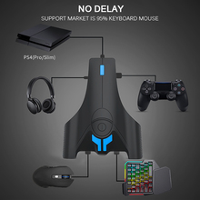 New Gamepad Controller Converter For PS4 For XBOX For ONE For SWITCH Keyboard Mouse Adapter Game Handle With Customized Button