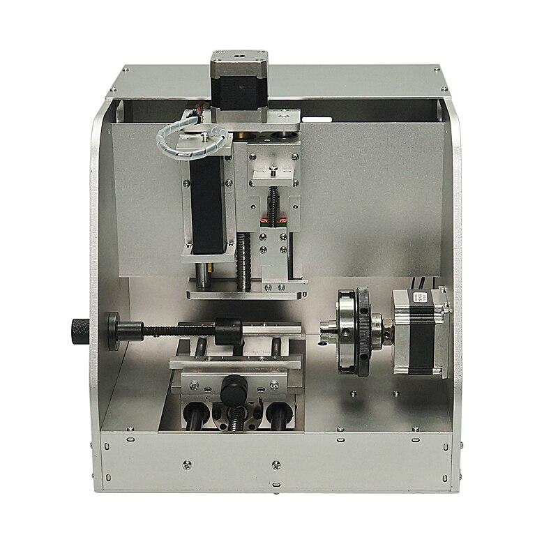 LY-40 CNC fraiseuse anneau bijoux graveur métal fraisage marquage CNC routeur machine usb 2.0 220V 110V