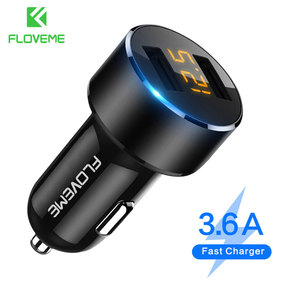 FLOVEME USB Car Charger For iP