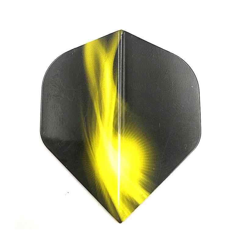 1pc余分な厚い半透明ダーツフライト尾羽葉フェザーdardosアクセサリー羽ゲームダーツ用のダーツW3R6