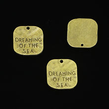 60pcs Antique Bronze Plated dreaming of the sea Charms Pendant For DIY Necklace Bracelet Jewelry Making DIY Handmade 19mm