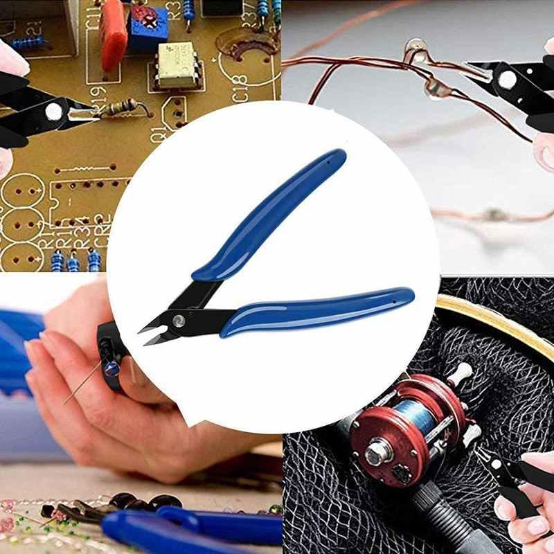 Narzędzia ręczne praktyczny przewód elektryczny przecinaki boczne nożyce szczypce Mini szczypce narzędzia ręczne